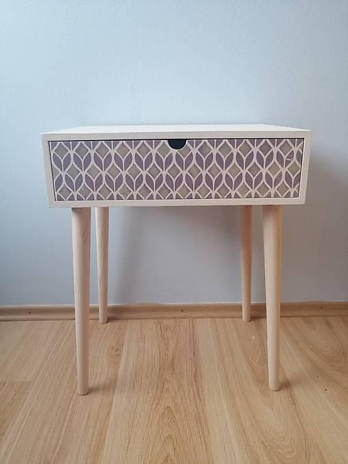 Geometrické retro - workshop maľovania nábytku v štýle mid-century modern - kurz 7.3.2020