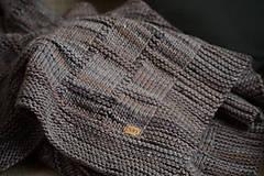Úžitkový textil - Deka KLASA, 100% merino - 11544361_
