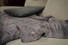 Úžitkový textil - Deka KLASA, 100% merino - 11544362_