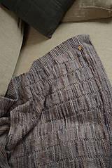 Úžitkový textil - Deka KLASA, 100% merino - 11544363_