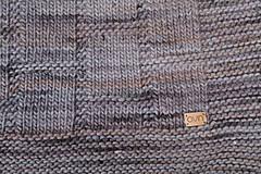 Úžitkový textil - Deka KLASA, 100% merino - 11544371_