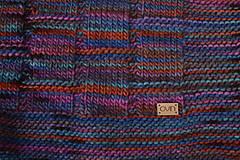 Úžitkový textil - Deka KLASA, 100% merino - 11544372_
