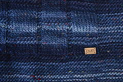 Úžitkový textil - Deka KLASA, 100% merino - 11544373_
