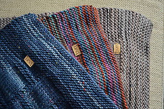 Úžitkový textil - Deka KLASA, 100% merino - 11544366_