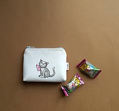 Peňaženky - mačička - 11545407_