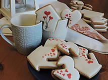 Dekorácie - Valentínsky balíček na šálku :-) 10 ks - 11549506_