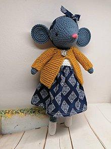 Hračky - Myška Liza - 11550386_