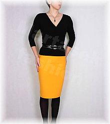 Sukne - Sukně luxusní úplet vz.678 - 11550894_