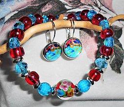 Sady šperkov - kvety z Murána - 11549778_