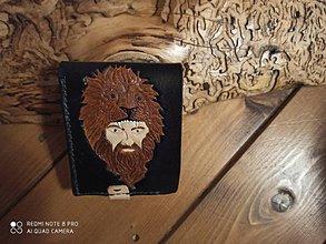 Peňaženky - Kožená peňaženka - 11548726_