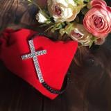 Náramky - Náramok na ruku krížik - 11550744_