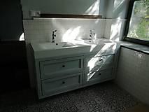 Nábytok - Stolik pod umyvadlo č. 30. - 11548763_