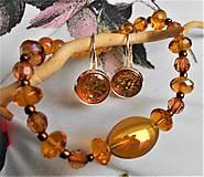 Sady šperkov - Kalené sklo - 11552452_