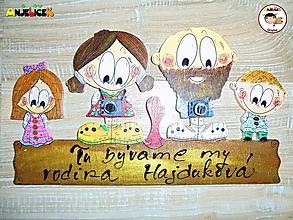 Tabuľky - Menovka - rodinka - 11555151_