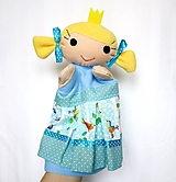 Hračky - Maňuška princezná - v štebotavej sukienke - 11553627_