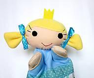 Hračky - Maňuška princezná - v štebotavej sukienke - 11553629_