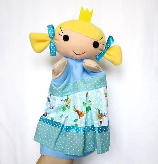 Maňuška princezná - v štebotavej sukienke