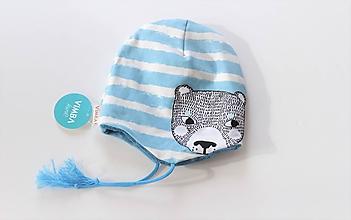 """Detské čiapky - Zimná čiapka """"pán medveď"""" !posledné kúsky! - 11552705_"""