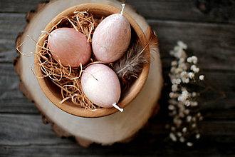 Svietidlá a sviečky - Veľkonočné vajíčka - sada - 11555600_