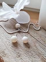 Swarovski perla biela Ivory