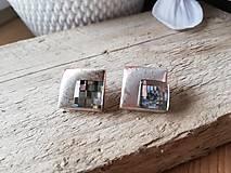 Náušnice - Swarovski black diamond - 11555355_