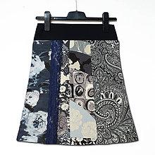 Sukne - Sukně elegantní s krajkou - 11554214_