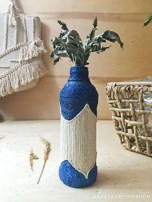 """Dekorácie - Morocco"""" recyklovaná váza - 11554921_"""