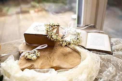 """Kvetinový set na prijímanie """"tak veľa lásky..."""""""