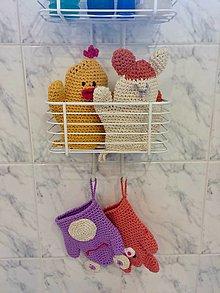 Úžitkový textil - Rukavička na umývanie,či maňuška? - 11553057_