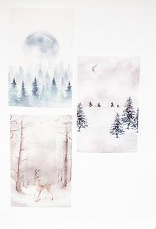"""Papier - Transparentný set háročkov """"nature"""" - 11551870_"""
