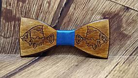 Doplnky - Pánsky drevený motýlik KAPOR - 11553695_