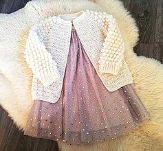 Detské oblečenie - Bublinkovy svetrík - 11554571_