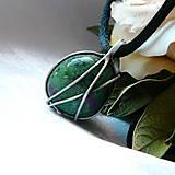 Šperky - Prívesok so zoisitom  § EIKE § - 11559289_