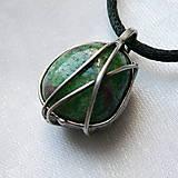 Šperky - Prívesok so zoisitom  § EIKE § - 11559290_