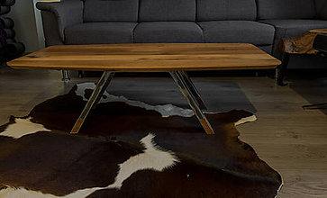"""Nábytok - Konferenčný stolík """"vintage"""" * MKII - 11558128_"""
