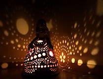 """Svietidlá a sviečky - """"Špirálka"""" - anjelská aromalampa - 11556703_"""