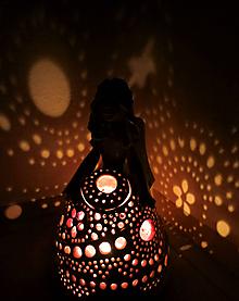 """Svietidlá a sviečky - """"Špirálka"""" - anjelská aromalampa - 11556696_"""