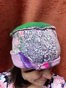 Čiapky - Fez art protis oboustranná čepice 4 - 11556759_