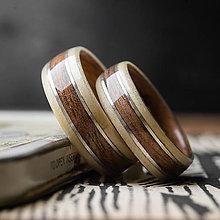 Prstene - GAŠTAN / ORECH - 11558779_