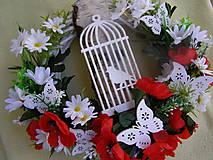 Dekorácie - venček na dvere - 11560458_