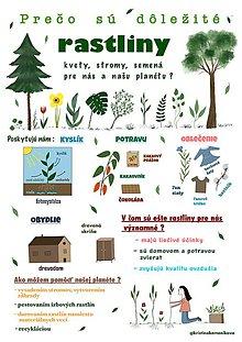 Obrazy - Rastliny / informativny plagat - 11561371_