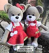 Hračky - Valentínsky Macko - 11561286_