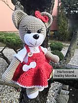 Hračky - Valentínsky Macko - 11561287_