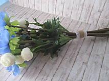 Dekorácie - Jarná kytička - 11559708_