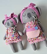 Hračky - mama koala s malou koalkou - 11559517_