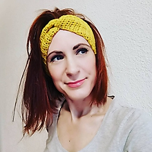 Ozdoby do vlasov - Merino čelenka - 11559519_