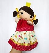 Hračky - Maňuška princezná - v sukničke s tulipánmi - 11562082_