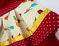Hračky - Maňuška princezná - v sukničke s tulipánmi - 11562090_