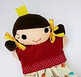 Hračky - Maňuška princezná - v sukničke s tulipánmi - 11562091_