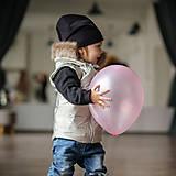 Detské oblečenie - Detská jarná vesta - champagne - 11560759_